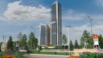 Проект небоскреба на Поклонной горе