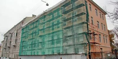 Фонтанка, 152, Рижский проспект, 21, капитальный ремонт