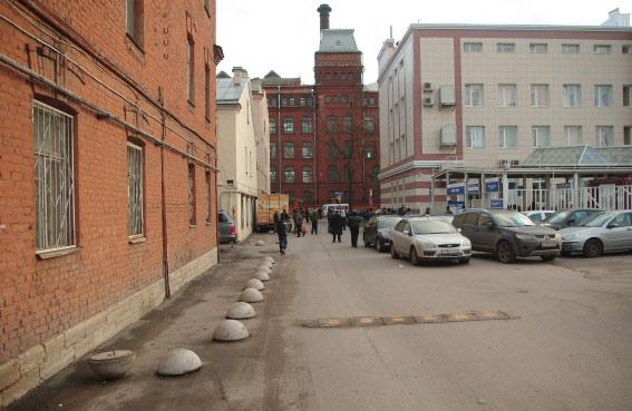 Отрезок между Кирочной улицой и Красного Текстильщика