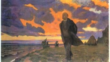 Аркадий Рылов «Ленин в разливе», 1934 год