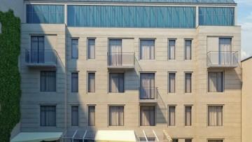Малый проспект Васильевского острова, 9, проект дворового фасада жилого дома