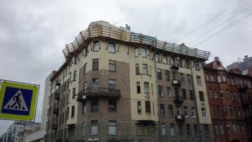 Надстройка мансарды на доме Обольянинова