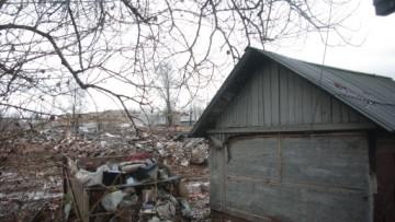 Расчистка территории под K-citymarket на Пискаревском, 59