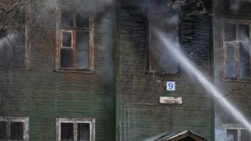 Пожар на Чекистов, 9