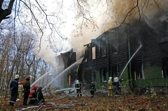 Пожар на улице Чекистов, 9