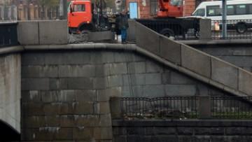 Предтеченский мост, ограждение после ДТП
