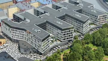 Проект бизнес-центра Сан-Галли на Лиговском