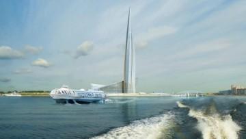 Проект небоскреба «Лахта-центр»
