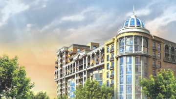 Проект жилого комплекса «Классика»