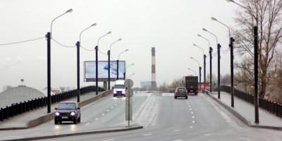 Путепровод Ленречпорта на Октябрьской набережной
