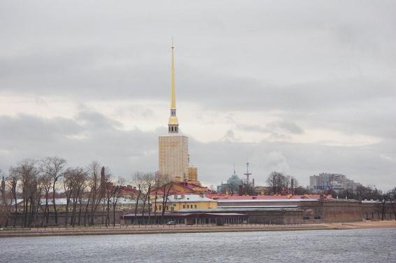 Ресторан у Петропавловской крепости