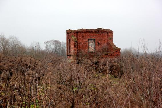 Руины кирхи в Каменке