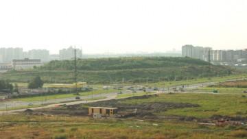 Гора на Оптиков, мусорная свалка