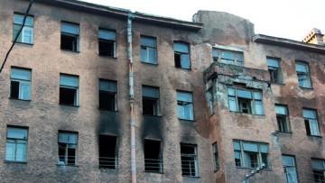 Сытнинская, 9, после пожара