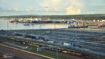 Морской порт Усть-Луга