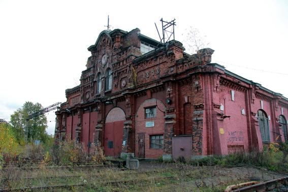 Вагоноремонтное депо за Варшавским вокзалом