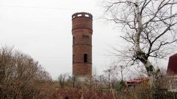 Водонапорная башня в Каменке