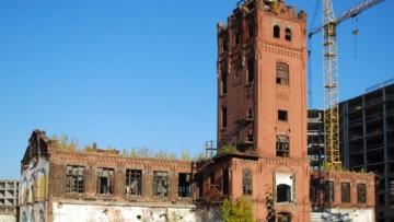 Водонапорная башня завода «Вулкан»