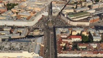 Площадь Восстания, Невский проспект, с западной стороны