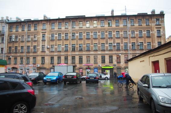 Историческое здание на Заставской, 25