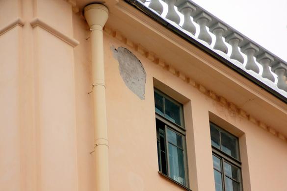 Дом, где жил Джон Рид, улица Рубинштейна, 23