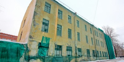 Большой проспект Васильевского острова, 85, литера А, фасад вдоль Детской улицы