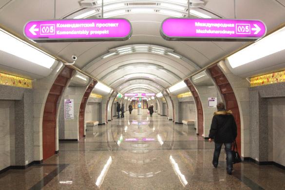 Новая станция метро «Бухарестская» в Купчино, Фрунзенский район