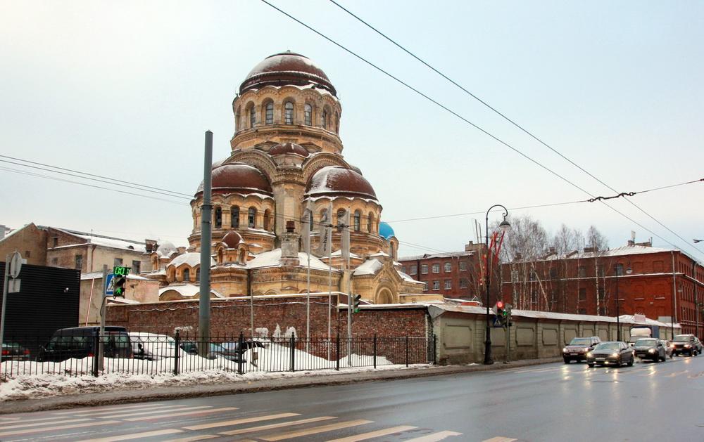 Церковь Милующей иконы Божией Матери на Большом проспекте Васильевского острова, 100