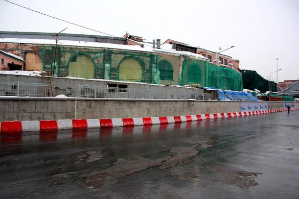 Депо Николаевской железной дороги на набережной Обводного канала