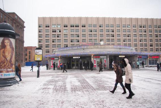 Корпус «Электросилы» за метро