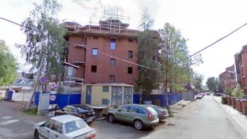 Горная улица, 22, строительство жилого дома