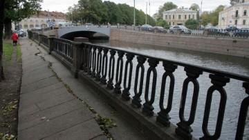 Набережная канала Грибоедова у Ново-Никольского моста