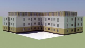 Проект жилого комплекса на Сегалевой, 10