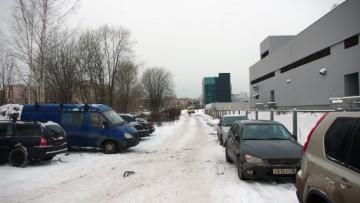 Непостроенный участок проспекта Металлистов
