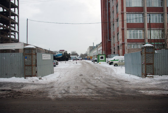 Непостроенный участок проспекта Металлистов от Магнитогорской в сторону Заневского