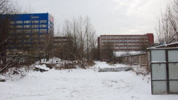 Непостроенный участок проспекта Металлистов в сторону Магнитогорской