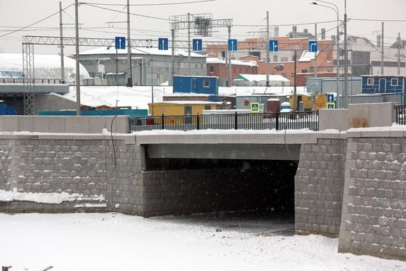 Ново-Кирпичный мост через Волковку