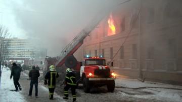 Пожар в общежитии на Стачек, 172