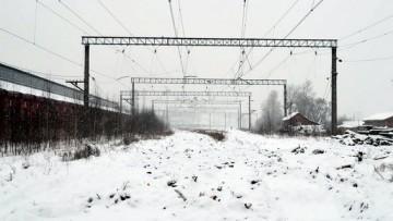 Рельсов нет за Варшавским вокзалом