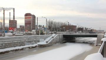 Обводный канал, башня на Рыбинской