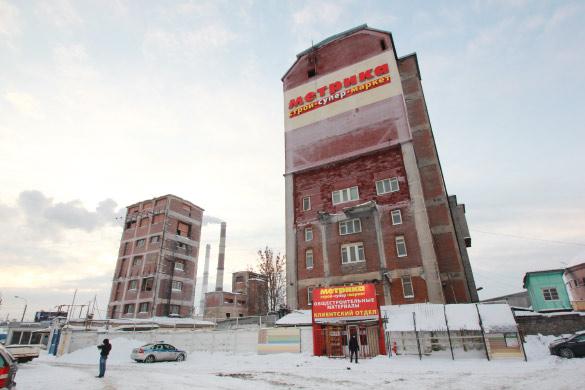 Башня газового завода на Рыбинской
