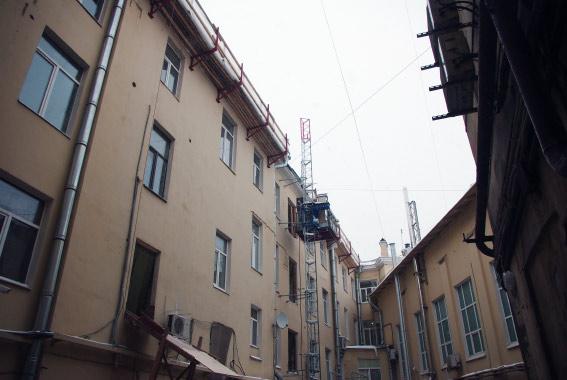 Садовая улица, 22, вид со двора