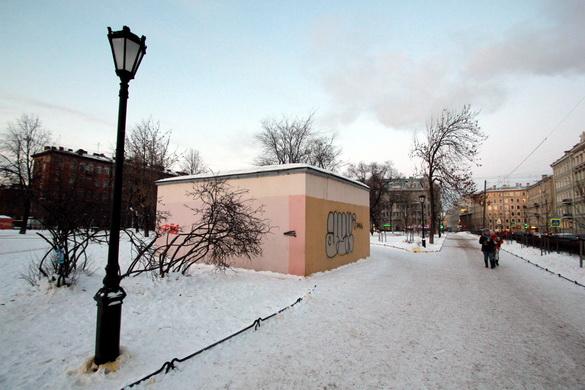 Туалет в Некрасовском саду