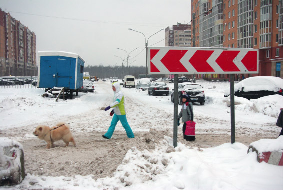 Закрытый участок Туристской улицы
