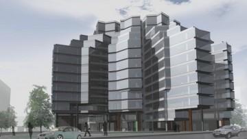 Проект здания на Боровой улице, 45