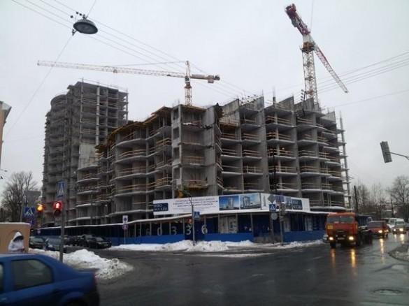 Строительство жилого комплекса на Смоленской