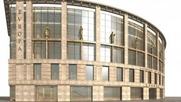 Проект торгового центра на Малом проспекте П. С