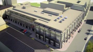 Проект реконструкции торгового центра Чкаловский