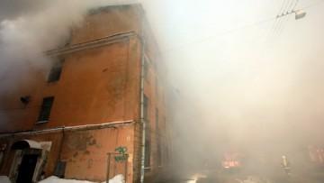 Пожар в Подъездном переулке, 13, общежитие