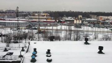 Строительство склада между Магнитогорской и Якорной